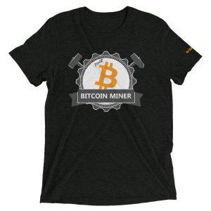 The Bitcoin Miner | Tri-Blend Unisex T-Shirt