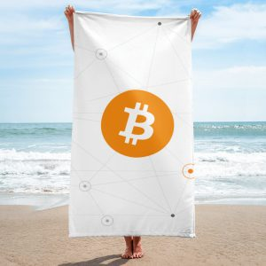 Bitcoin Soft Beach Towel