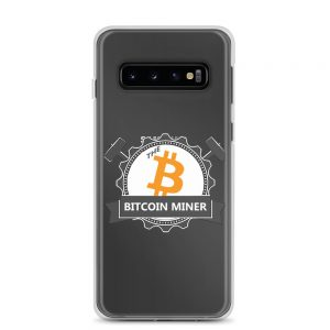 The Bicoin Miner Samsung Case S10+, S9+, S8+ & More