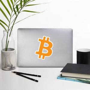 Bitcoin Symbol Stickers