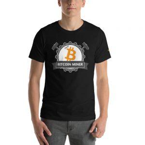 The Bitcoin Miner | Premium Unisex T-Shirt