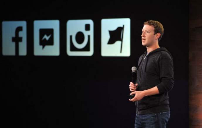 Mark Zuckerberg wearing a hoodie