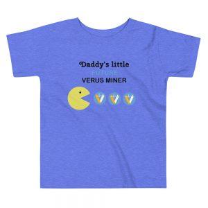 Customizable Verus Miner Toddler T-Shirts