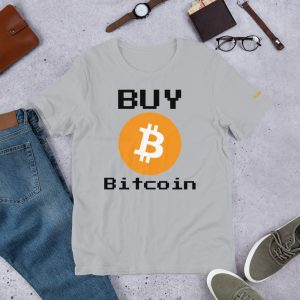 Buy Bitcoin T-Shirt | Premium Unisex Customizable