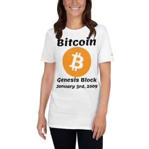 Bitcoin Genesis Block T-Shirt | Softstyle Unisex Customizable