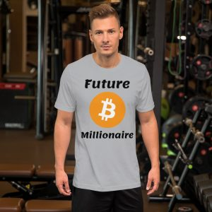 Future Bitcoin Millionaire T-Shirt | Premium Unisex Customizable