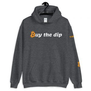 Buy The Dip Bitcoin Hoodie | Customizable Heavy Unisex