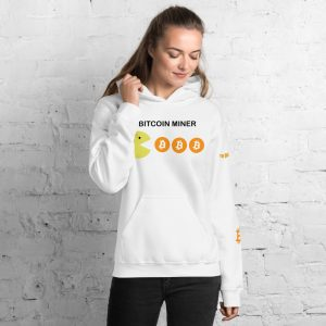 Bitcoin Miner Hoodie | Customizable Heavy Unisex