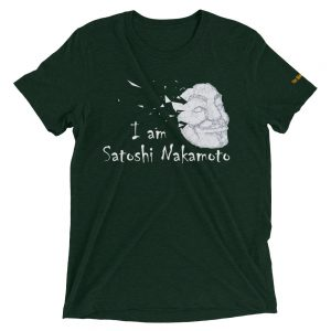I Am Satoshi Nakamoto T-Shirt V2 | Tri-Blend Unisex