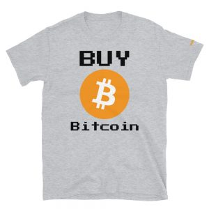 Buy Bitcoin T-Shirt | Softstyle Unisex Customizable