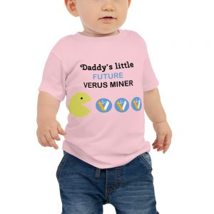 Customizable Verus Miner Baby T-Shirts