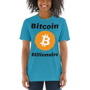 Bitcoin Billionaire T-Shirt | Tri-Blend Unisex Customizable