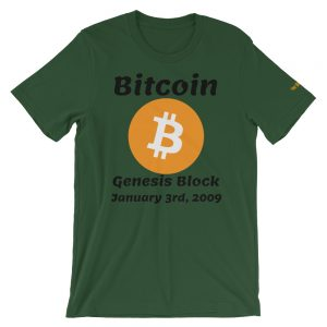 Bitcoin Genesis Block T-Shirt | Premium Unisex Customizable