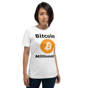 Bitcoin Millionaire T-Shirt | Premium Unisex Customizable