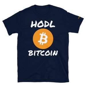 HODL Bitcoin T-Shirt V2 | Softstyle Unisex Customizable