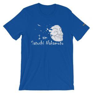 I Am Satoshi Nakamoto T-Shirt V2 | Premium Unisex