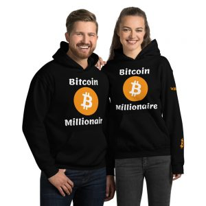 Bitcoin Millionaire Hoodie | Customizable Heavy Unisex Hoodie