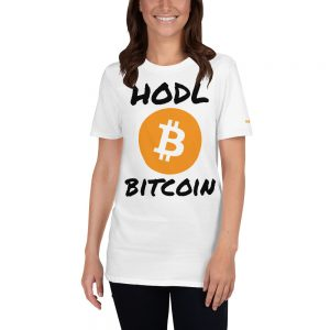 HODL Bitcoin T-Shirt | Softstyle Unisex Customizable