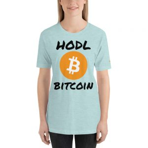 HODL Bitcoin T-Shirt | Premium Unisex Customizable