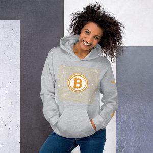 Bitcoin Code Hoodie | Customizable Heavy Unisex Hoodie