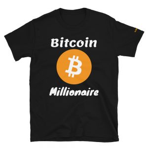 Bitcoin Millionaire T-Shirt V2 | Softstyle Unisex Customizable