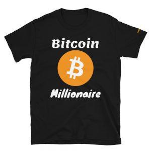 Bitcoin Millionaire T-Shirt V2 | Softstyle Unisex Customizable