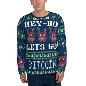 Bitcoin Ugly Sweater | Unisex Sweatshirt