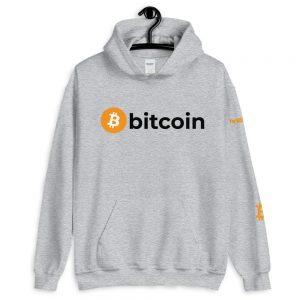 Bitcoin Hoodie V2 | Customizable Heavy Unisex Hoodie