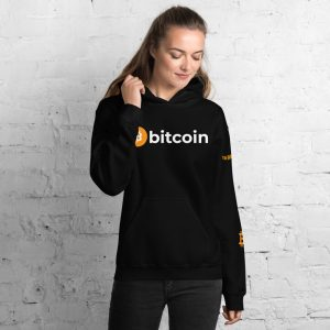 Bitcoin Hoodie | Customizable Heavy Unisex